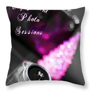Winter Engagement V2 Throw Pillow