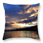Winter Exhibition Throw Pillow