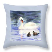 Winter Friends Throw Pillow