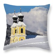 Winter Illusion Throw Pillow