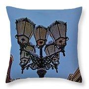 Winter In Gouda-1 Throw Pillow