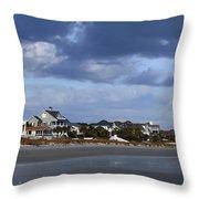 Winter In Hilton Head Throw Pillow