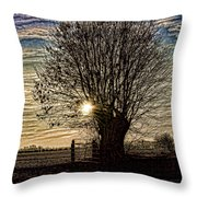 Winter In Holland 3 Throw Pillow