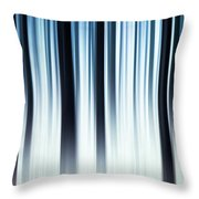 Winter In The Forest Throw Pillow
