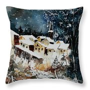 Winter In Vivy  Throw Pillow