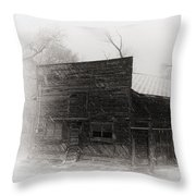 Winter In Wyoming 2 Throw Pillow