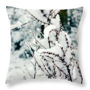 Winter Is Comming  Throw Pillow