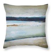 Winter Lake Throw Pillow