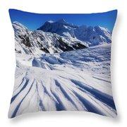 Winter Mount Shuksan Throw Pillow