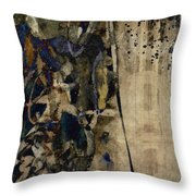 Winter Rains Series Five Of Six Throw Pillow