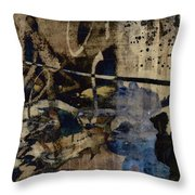 Winter Rains Series Two Of Six Throw Pillow