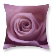 Winter Rose 7 Throw Pillow