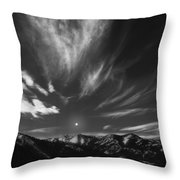 Winter Sky Throw Pillow