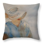 Winter Sun I Throw Pillow
