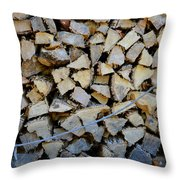 Winter Survival Kit 3 Throw Pillow