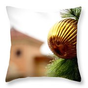 Winter Theme Throw Pillow
