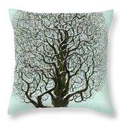 Winter Tree 2009 Throw Pillow