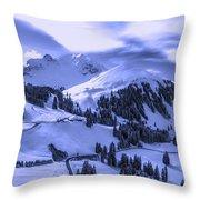 Winter Vista Throw Pillow