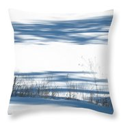 winter weeds SCN M 80 Throw Pillow