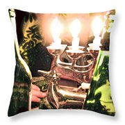 Winter Wine. Throw Pillow
