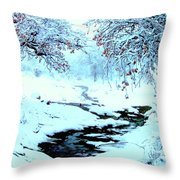 Winter Wonder Throw Pillow
