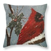 Winter Wonderland  Throw Pillow by Ginny Youngblood