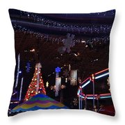 Winterfest Carnival 2013 Throw Pillow