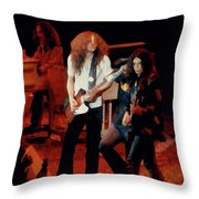 Winterland Freebirds 2 Throw Pillow