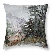 Winterlude Throw Pillow