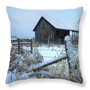 Winters Arrival Throw Pillow
