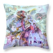Winters Blast Throw Pillow