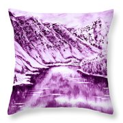 Winter's Charm Throw Pillow