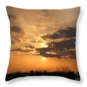 Winters Dawn Throw Pillow