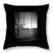 Winters Glow #2 Throw Pillow