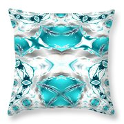 Winter's Jewels Throw Pillow