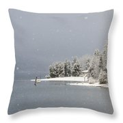 The Sound Of Silence Throw Pillow