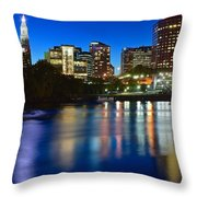 Hartford Lights Throw Pillow
