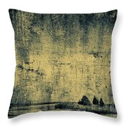 Winters Silence Throw Pillow
