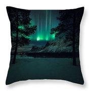 Winterspell Throw Pillow