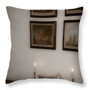 Winterthur By Candlelight Throw Pillow