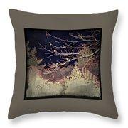 Wintervwoods Throw Pillow