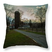 Winterwood Farm Throw Pillow