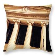 Wintrust Financial Corporation Throw Pillow