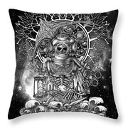 Winya No. 73 Throw Pillow