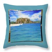 Wip- Creole Rock 02 Throw Pillow