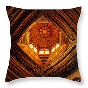 Al Ghuri Dome Throw Pillow