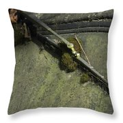 Wiped Out Throw Pillow