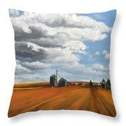 Wirick's Farm Throw Pillow