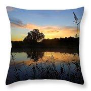 Wisconsin Sunrise Throw Pillow
