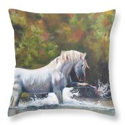 Wisdom Of The Wild Throw Pillow